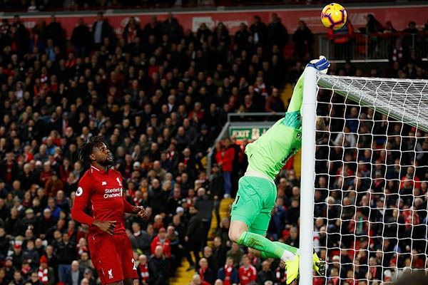 <b style='background-color:Yellow'>Liverpool</b> 1-0 Everton: Tội đồ Pickford