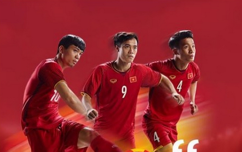 Tien Dung va Cong Phuong quyet cung DT Viet Nam doat ve du World Cup hinh anh