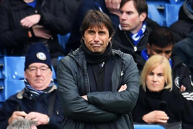 <b style='background-color:Yellow'>Conte</b> nóng lòng… rời khỏi Chelsea