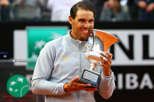 Vo dich Rome Open, Nadal gianh lai ngoi so 1 the gioi