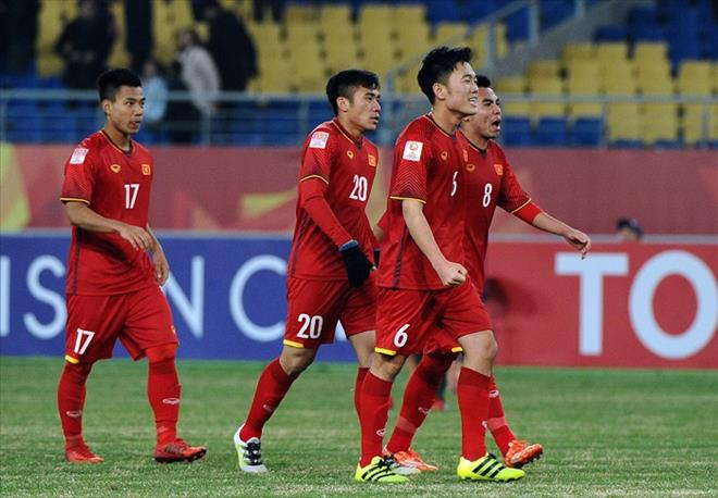 DT Viet Nam da giao huu voi Qatar truoc them VCK Asian Cup 2019 hinh anh