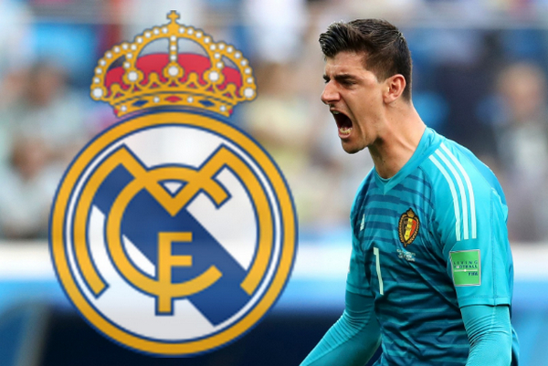 Real Madrid dang cho Chelsea tim nguoi thay the Courtois hinh anh