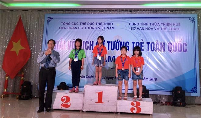 TP. Ho Chi Minh tam dan dau giai Vo dich Co tuong tre toan quoc 2018 hinh anh
