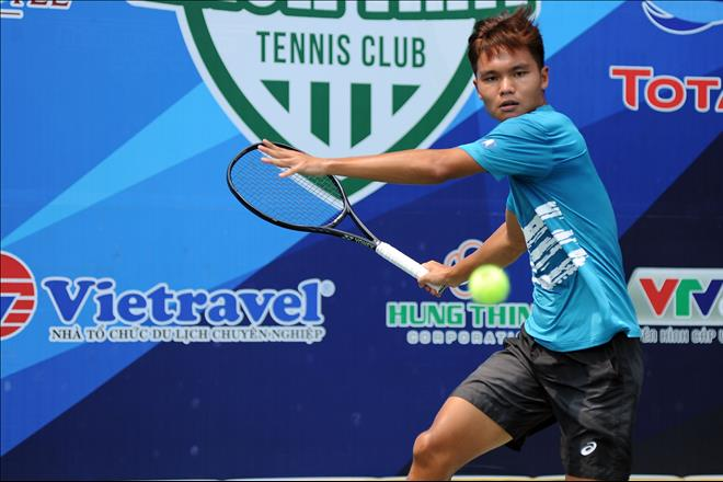 Tay vot trong Top 200 ATP du giai Vo dich Quoc gia – Cup Hung Thinh 2019 hinh anh 3