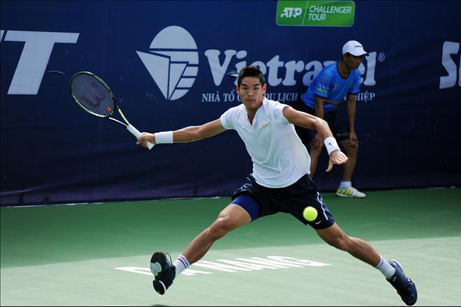 Tay vot trong Top 200 ATP du giai Vo dich Quoc gia – Cup Hung Thinh 2019