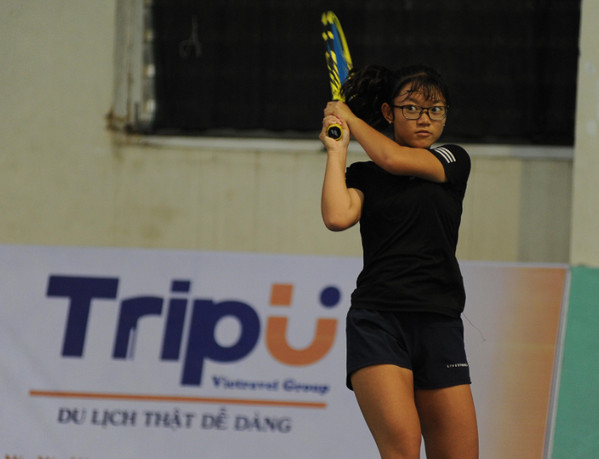 Nguyen Minh Thuy Hang vo dich noi dung don nu U16 giai VTF Junior Tour 4 hinh anh