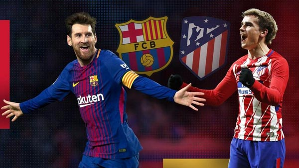 <b style='background-color:Yellow'>Barcelona</b> - Atletico Madrid: Thắng làm Vua