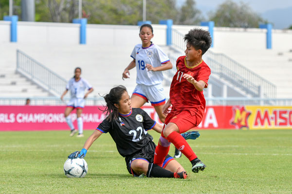 DT U15 nu Viet Nam gianh HCD giai vo dich Dong Nam A 2019 hinh anh