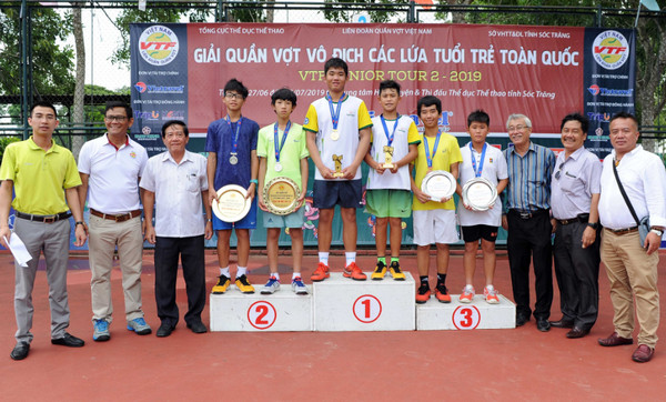 Lam Phan Phuong Anh vo dich noi dung don nu U16 giai VTF Junior Tour 2 hinh anh 2