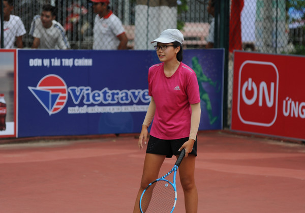 Lam Phan Phuong Anh vo dich noi dung don nu U16 giai VTF Junior Tour 2 hinh anh