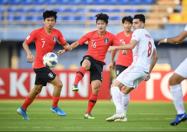 U23 Han Quoc som gianh ve di tiep o VCK U23 chau A 2020 hinh anh